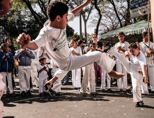 Os benefícios da Capoeira para crianças
