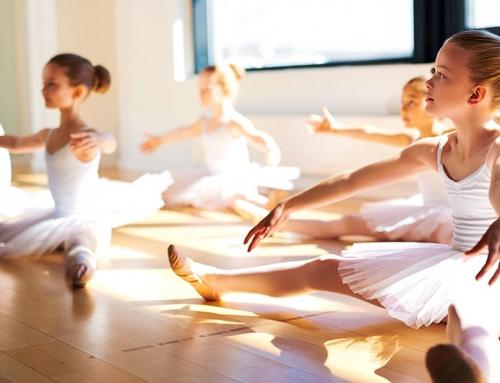 Disciplina é a melhor amiga dos pequenos bailarinos