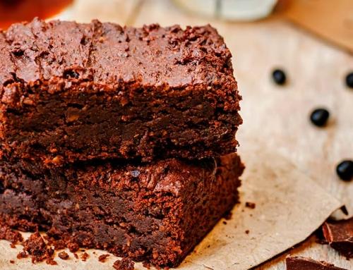 Receita de bolo de chocolate vegano