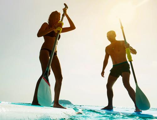 4 exercícios para mandar bem no stand up paddle