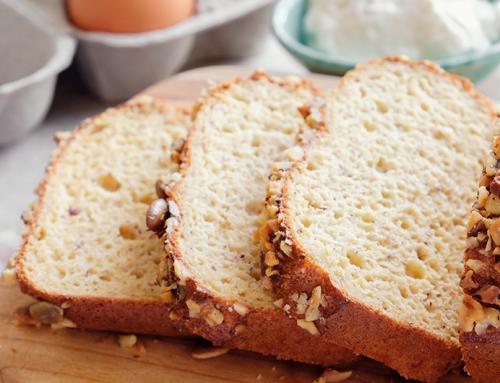 Aprenda uma receita de pão low carb com grão de bico