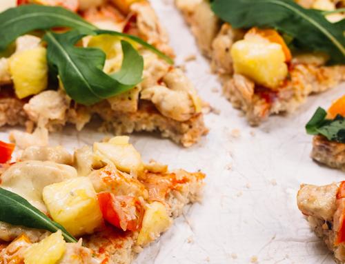 Aprenda a fazer uma receita de pizza fit
