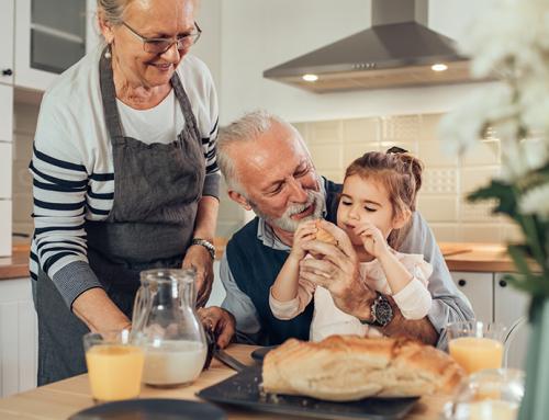 A alimentação das crianças e a influência dos avós