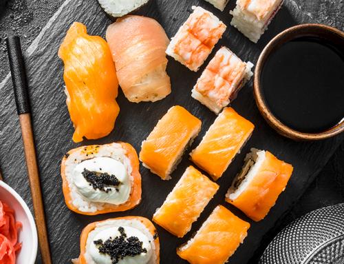 Comida japonesa e dieta dá certo?