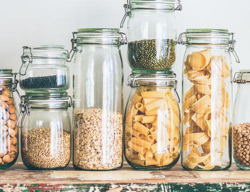 Como armazenar alimentos sem desperdícios