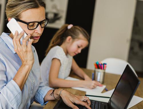 Dicas para fazer home office com filhos