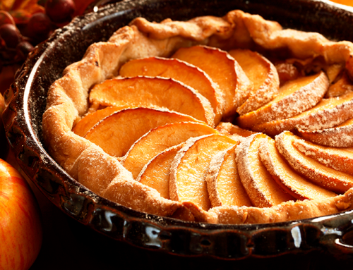 Torta de maçã fit e deliciosa com 5 ingredientes